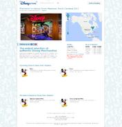 Disney Store Madison, NC site notice