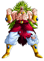 God Broly Dragon Ball Z The Real 4-D