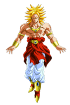 Broly Super Saiyan Form Dragon Ball