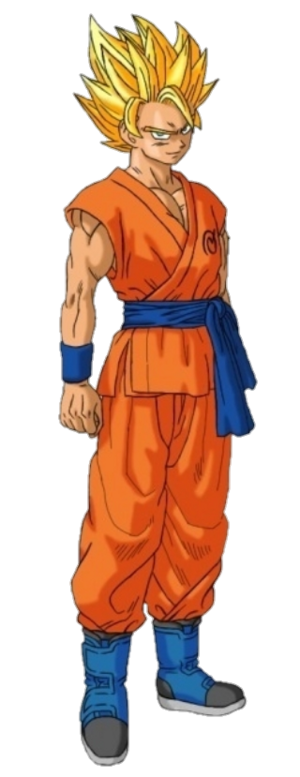 Super Saiyan 2 Goku Dragon Ball Z