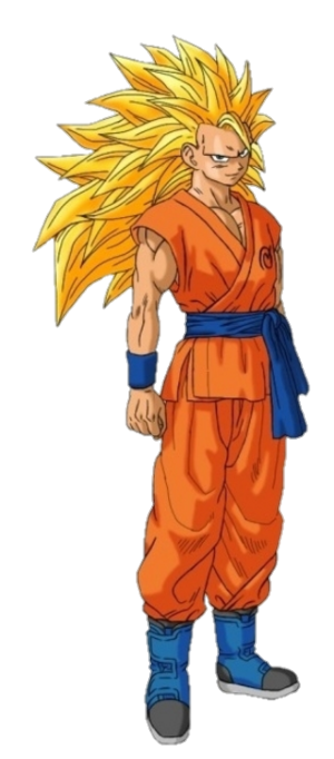 Super Saiyan 3 Goku Dragon Ball Z