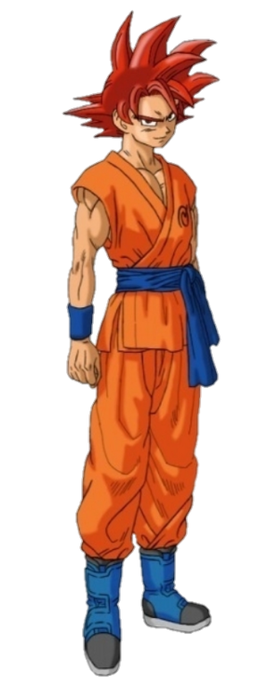 Super Saiyan God Goku Dragon Ball Super