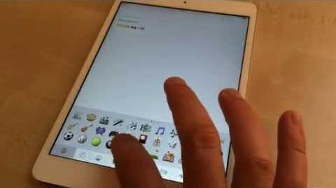 ✅ How to use emoji on iPad running iOS 7
