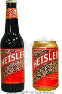 Beer Heisler can and bottle