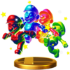 SSB4 Trophy RainbowMario