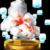 SSB4 Trophy Goldeen