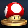 SSBB Trophy 492 Super Mushroom