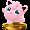 SSB4 Trophy Jigglypuff