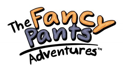 A fancy pants adventures logo