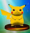SSBM Trophy 022 Pikachu