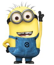 A Minion from despicable me