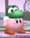 SSBB Kirby hat Yoshi