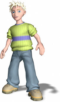 Cooper from Grabbed by the ghoulies