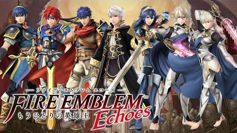 Fire Emblem Echoes Another Hero-King - All Amiibo Units in Action (Except Alm and Celica)