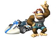 MKWii Funky Kong