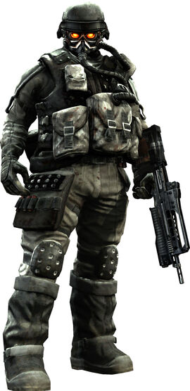 A soldier from killzone