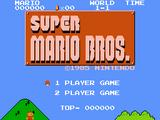 Mario Bros. X Super Mario