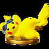 SSB4 Trophy PikachuAlt WiiU