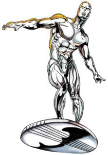 A Silver Surfer
