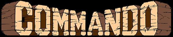 Commando capcom logo