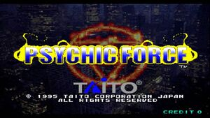 Psychic force logo