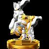 SSB4 Trophy Arceus