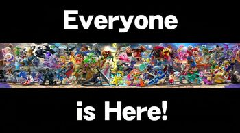 SSBU Everyone is here