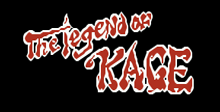 The legend of kage logo