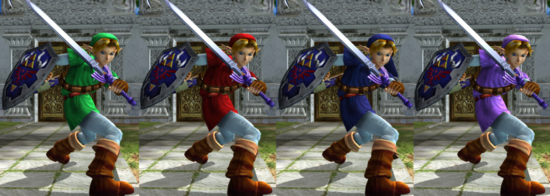 SC2 Link outfits
