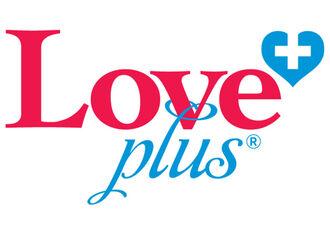 A love plus logo