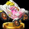 SSB4 Trophy PeachKart WiiU