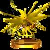 SSB4 Trophy Zapdos