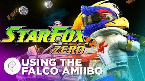 Falco Amiibo Functionality in Star Fox Zero