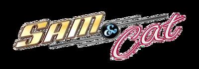 A sam and cat logo