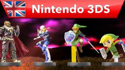 Hyrule Warriors Legends - amiibo Trailer (Nintendo 3DS)