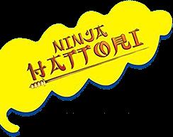 Ninja Hattori logo
