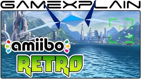 Retro Super FX Chip Mode in Star Fox Zero (amiibo Gameplay - 60fps Direct Feed)