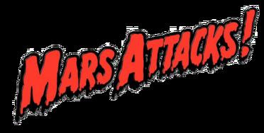 A Mars Attacks logo