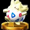SSB4 Trophy Togepi