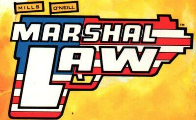 A Marshal Law logo