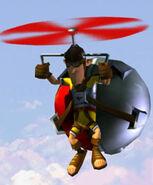 A&OXXL2 Flying roman