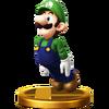 SSB4 Trophy Luigi