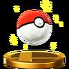 SSB4 Trophy PokeBall