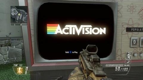 Atari games in Call of Duty