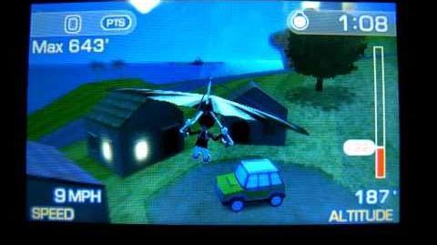 Pilotwings Resort Easter Egg Mario Theme (Nintendo 3DS)