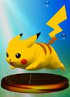 SSBM Trophy 023 Pikachu Smash1