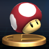 SSBB Trophy 493 Poison Mushroom
