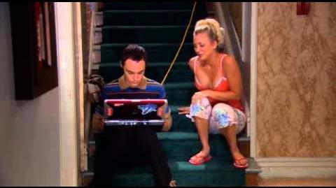 The big bang theory - Sheldon plays nintendo 64 emulator hop you little plumber hop