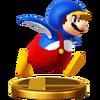 SSB4 Trophy PenguinMario