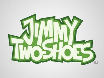 A jimmy two shoes logo